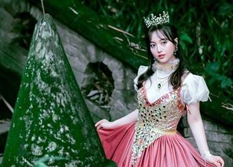 隐在古堡里的粉色公主