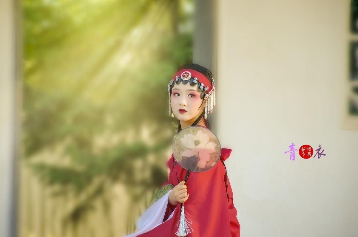 青衣-北京园博园古装人像
