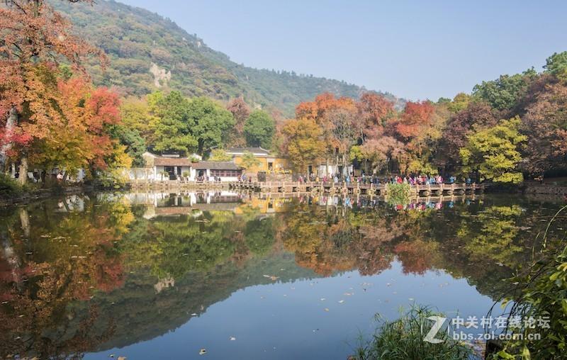 秋影——苏州天平山