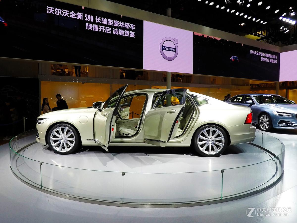 2016广州国际车展---沃尔沃S90