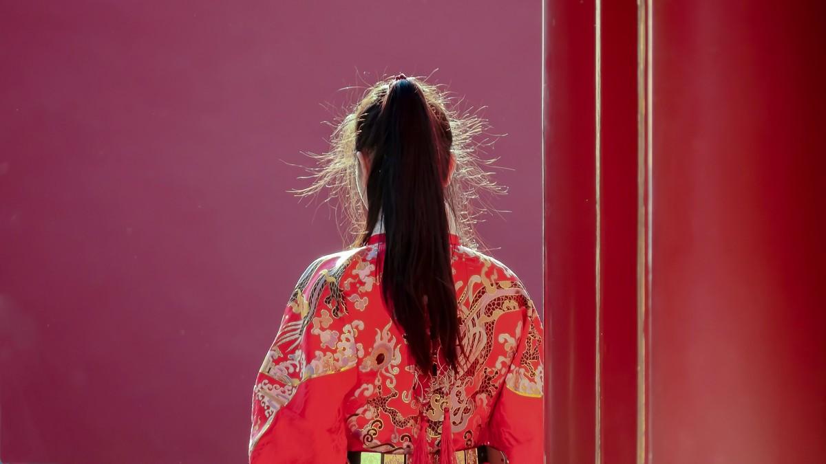 春游故宫博物院20210418-宫里的女人 《58》