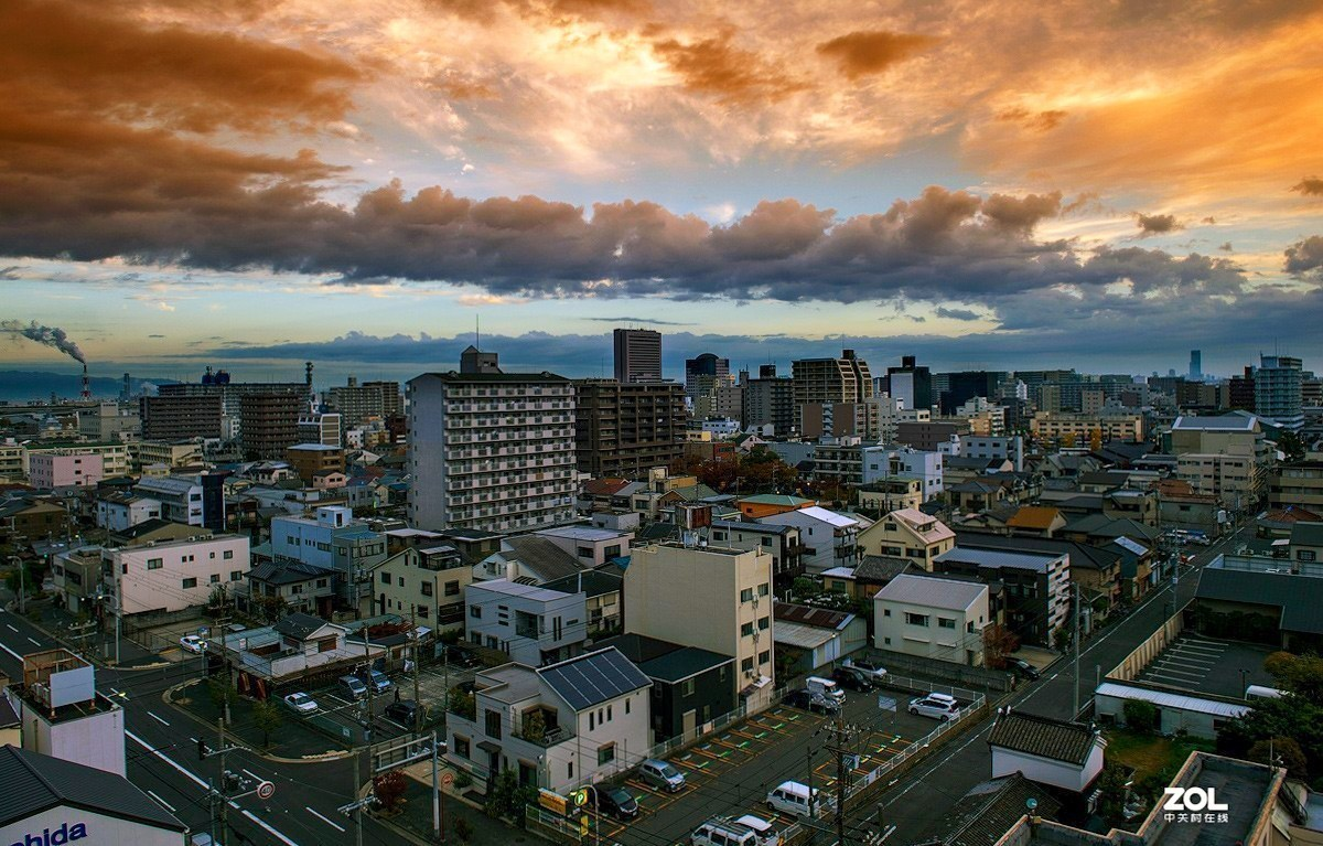 东京,大板,奈良,冲绳 城市街道记录