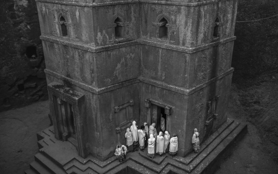 摄影师:陈建强--水岩石教堂