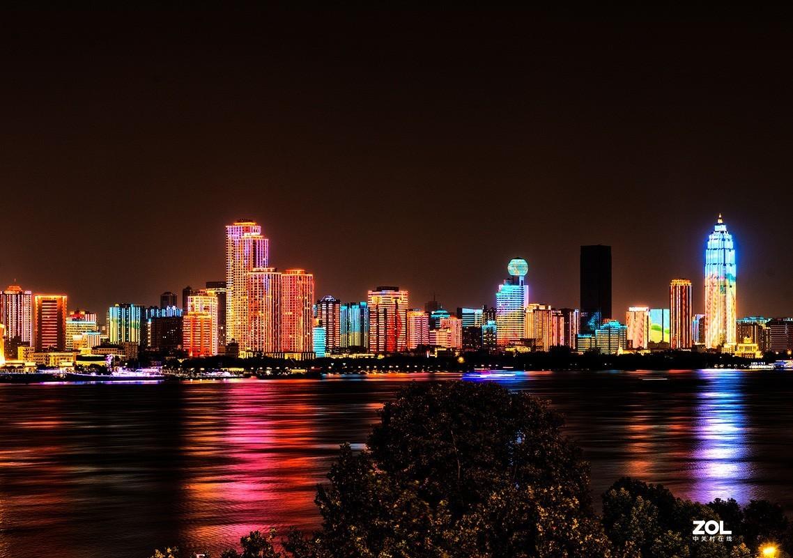 武汉夜景(国庆期间CCTV出现过的镜头)