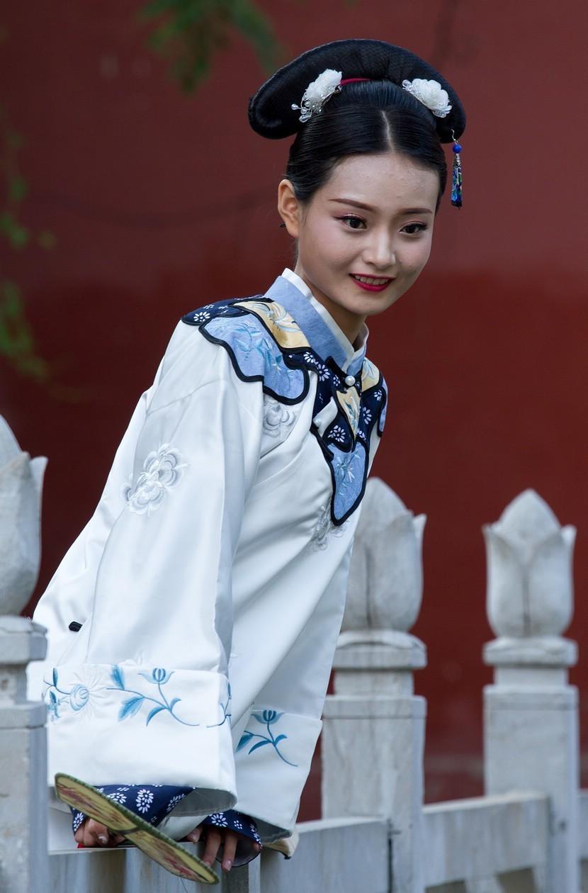 清宫服饰人像