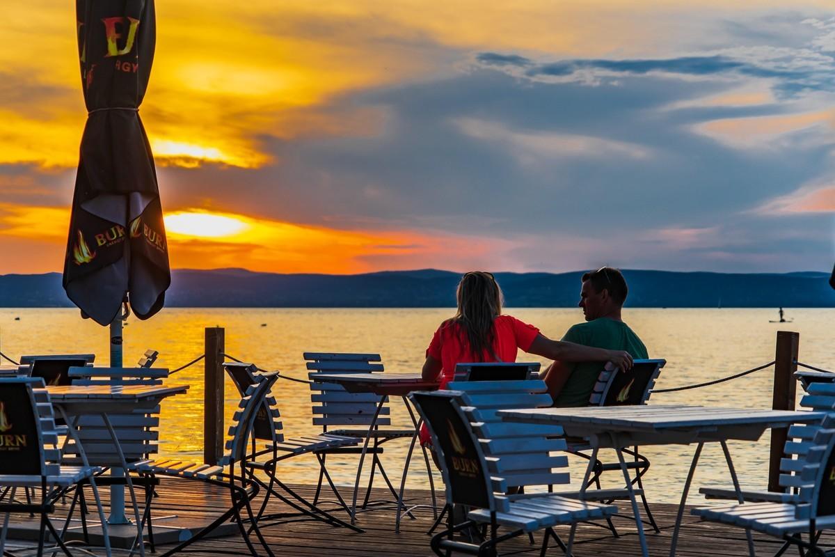 巴拉顿湖-看夕阳