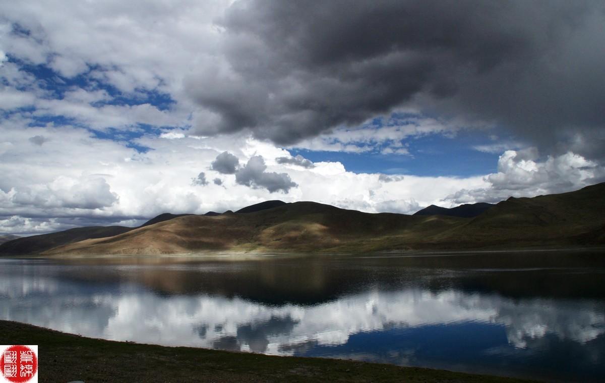 西藏第三大圣湖---羊卓雍湖(27)
