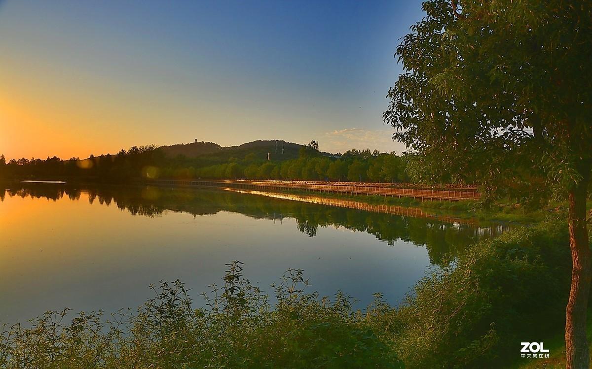 晨拍喻家湖