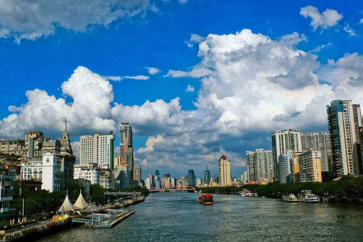 广州珠江两岸