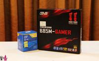 从B85+G3258高性价比组合到三套入门级游戏主机推荐,附B85+G3258超频教程