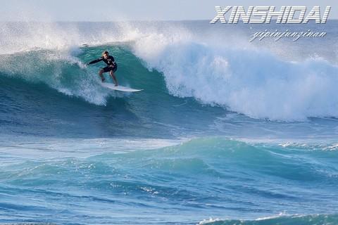 精彩一目  夏威夷冲浪运动