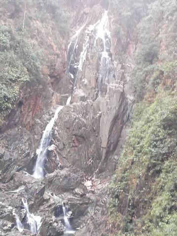 #ZOL国庆随手拍#山中瀑布