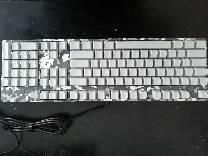 侧刻的机械键盘摩豹k96