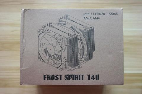 做工非常优秀的双塔CPU散热器!利民霜灵FS140开箱评测