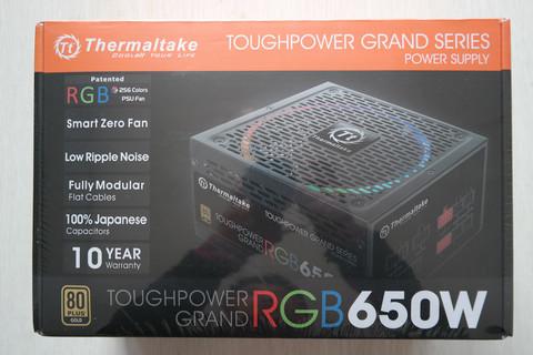 Tt Toughpower Grand RGB650W全模组金牌电源拆解评测