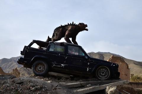 石油小镇——电影《九层妖塔》拍摄基地