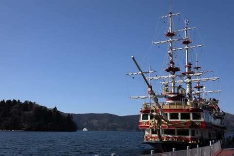 神奈川·箱根·海贼船