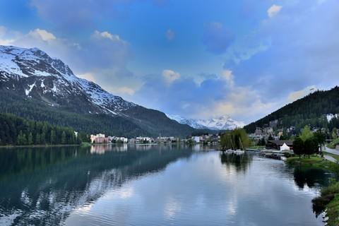 火车环瑞士之旅——圣莫里茨风光【6】
