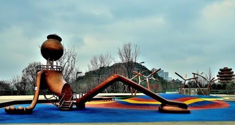 冬季:公园小景..-1