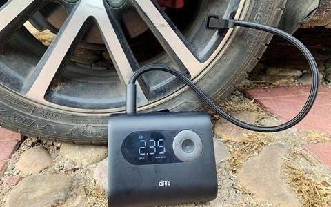 嘀米随行充气泵有线无线双模式专为呵护爱车的你而设计