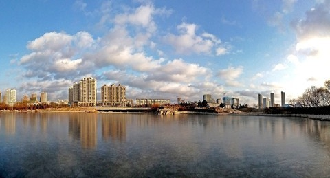 日照清风湖(冬)