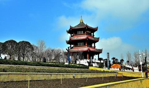 冬拍:阳湖公园...