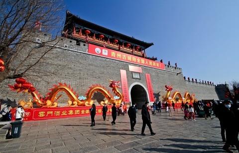 大年初一——青州古城采风