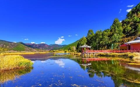 21066---泸沽湖走婚桥景区