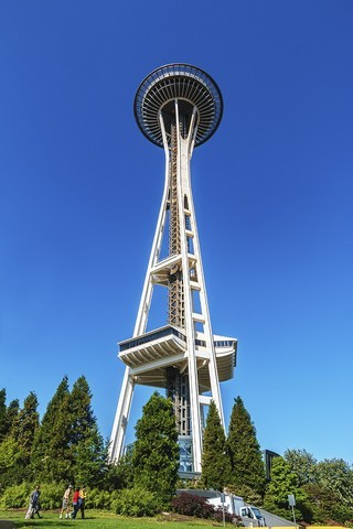 加拿大、美国游记(059):西雅图 · 太空针塔