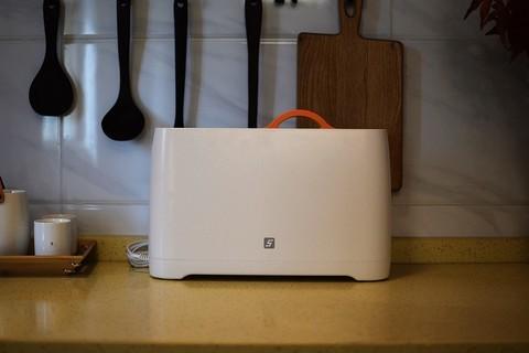 紫外线杀毒+70°热风烘干 FIVE智能刀筷砧板杀菌架