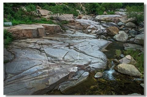 彩石溪慢门拍流水(十三)