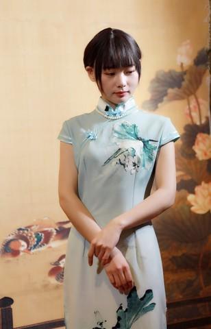 穿旗袍之美