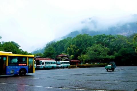 阴雨中的武夷山景区(3)