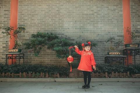 中国风中国年。