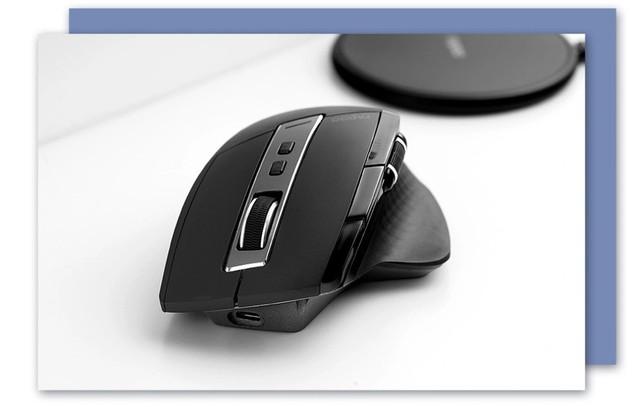 高效Qi无线充电 雷柏MT750PRO多模式无线充电激光鼠标(赠XC100无线充电器)免费试用