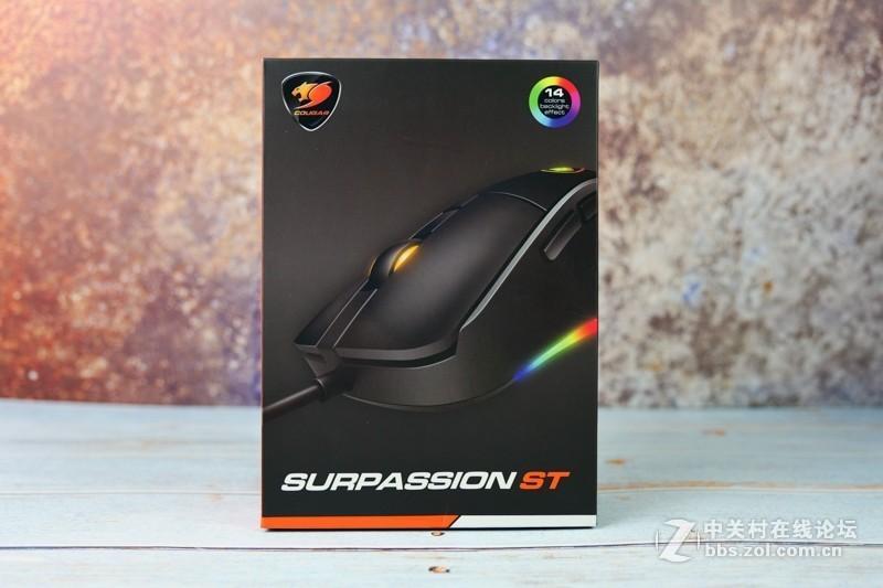 免驱动的中小手型神器:开箱骨伽SURPASSION ST游戏鼠标
