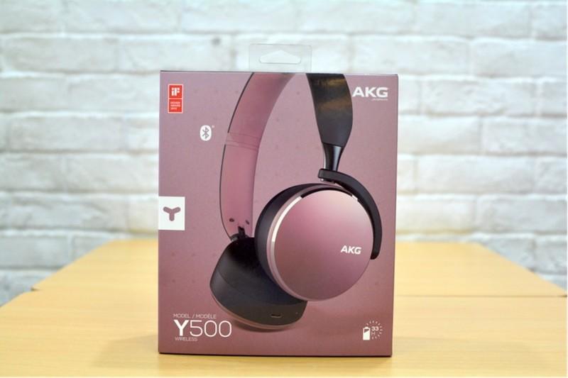 AKG Y500无线蓝牙耳机上手体验,小清新的它配小清新的你