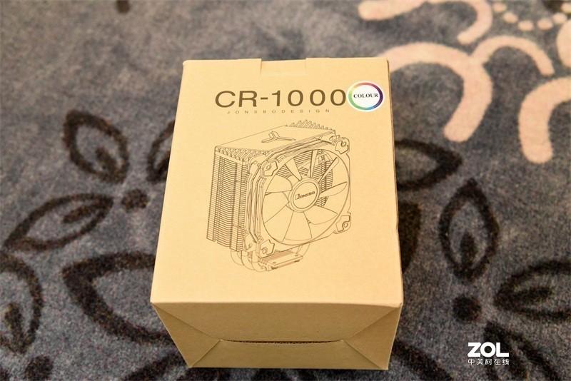 一样的散热,不一样的方向---乔思伯 CR-1000风冷散热器入手升级体验