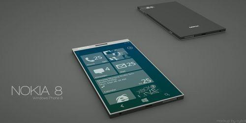 诺基亚Nokia8概念机曝光,能期待吗?