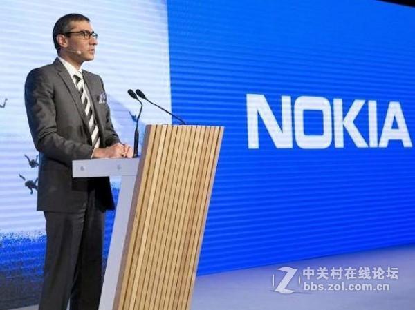 诺基亚CEO表示诺基亚将重返智能手机市场