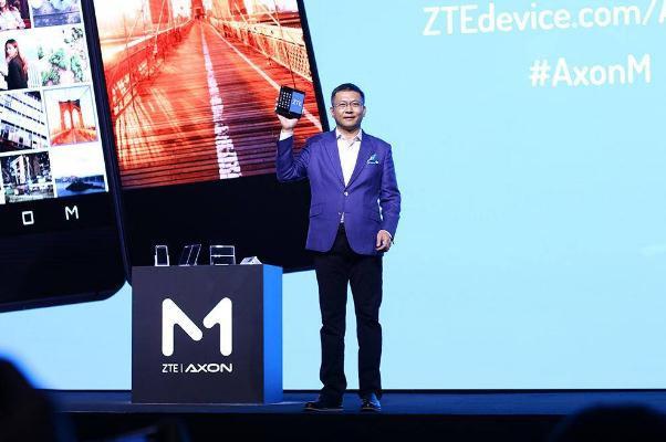 专访中兴终端CEO:希望Axon M激发手机行业下一轮创新