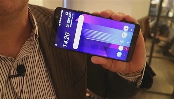 明天发!HTC全面屏U11+上手曝光:半透明后背销魂