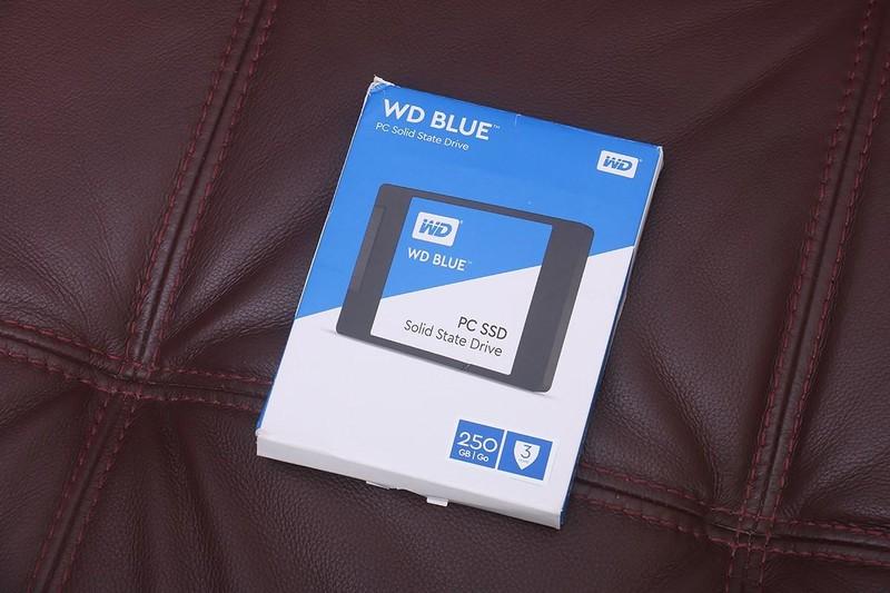 蓝盘家族新成员,WD BLUE 西数蓝盘 SSD 250G 开箱简测!