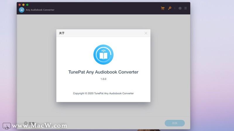 TunePat Any Audiobook Converter for mac(有声读物转换器)v1.0.0激活版