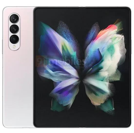 """曝三星Galaxy Z Fold3屏下摄像头不够完美:有""""纱窗效应"""""""