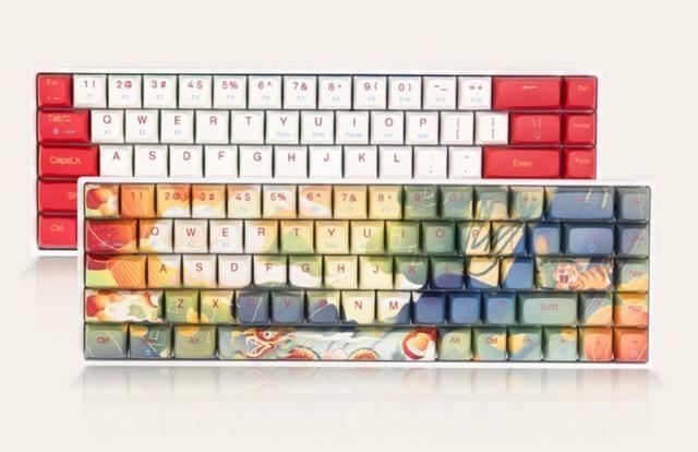 #超级众测节#国风设计的小配列键盘精品 新贵GM680双模机械键盘免费试用