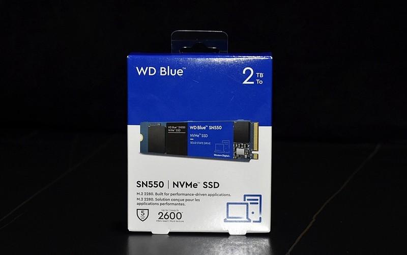 生产力好帮手 西部数据SN550 2T大容量固态硬盘 开箱体验小测