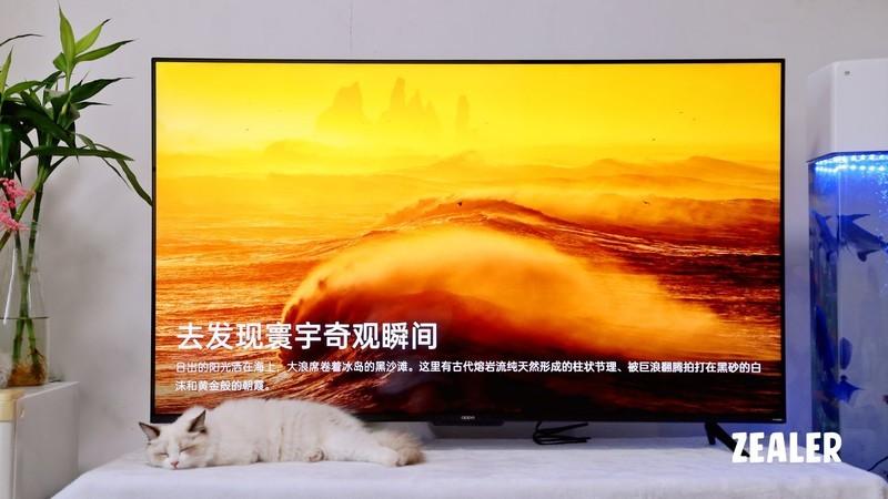 """十分出""""色""""OPPO智能电视K9 55英寸,带给家庭不一样的视听体验"""