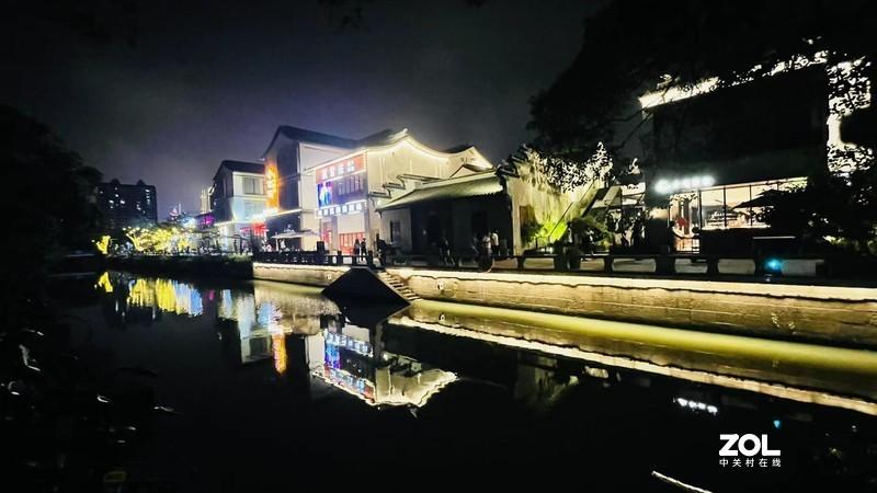 南长街夜景
