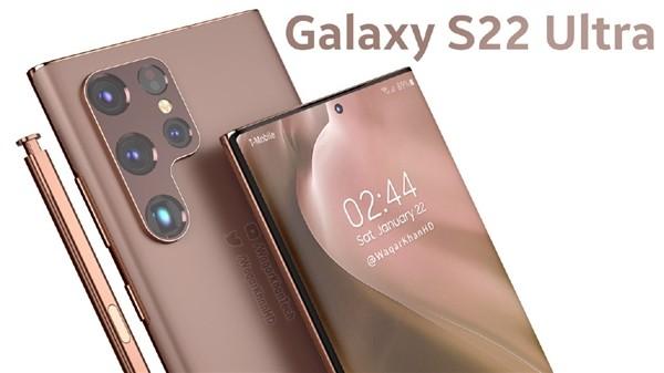 首批骁龙898旗舰!三星Galaxy S22最新渲染图曝光:Note味十足